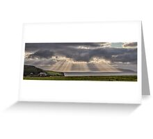 Donegal Sunburst Greeting Card