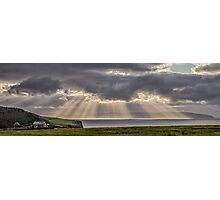 Donegal Sunburst Photographic Print