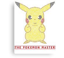The pokemon Master Canvas Print