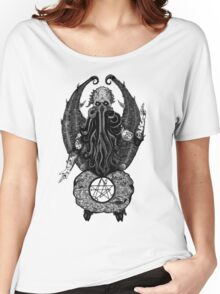Cthulhu Baphomet Women's Relaxed Fit T-Shirt