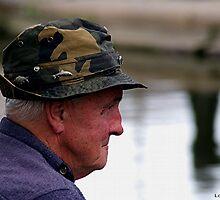 Fishing the Delph Locks by Loree McComb