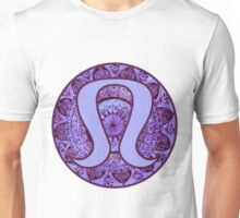 Purple Mandala Lulu Logo Unisex T-Shirt