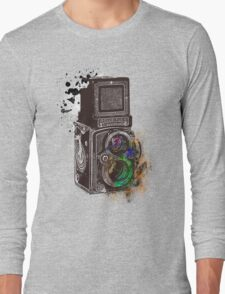 Photography Vintage Retro Rolleiflex Long Sleeve T-Shirt