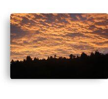 Cloud and sun, hide and seek Canvas Print