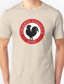 Black Rooster Italy Chianti Classico  T-Shirt