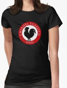 Black Rooster Italy Chianti Classico  Womens Fitted T-Shirt