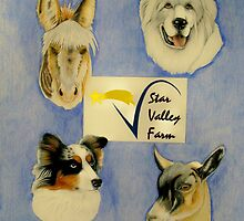 """Star Valley Farm"" Commission by Catherine  Howell"