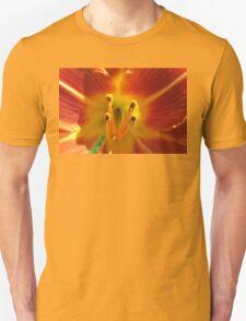 Day lily macro Unisex T-Shirt