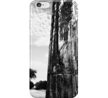 trees in distance  iPhone Case/Skin