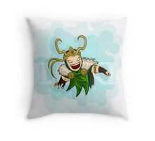 Chibi Loki Throw Pillow