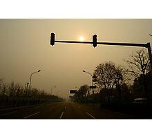 The sun light Photographic Print