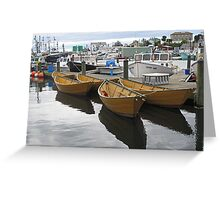 Gloucester Harbor Greeting Card