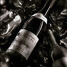 ...please bring me my wine... by Sigrid  Kleinecke