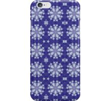 Frozen Snow Flakes iPhone Case/Skin