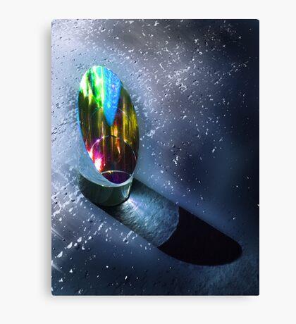 Prism under water Canvas Print