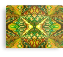 Burning Man Metal Print