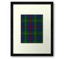 00017 The House of Bailey Clan Tartan  Framed Print