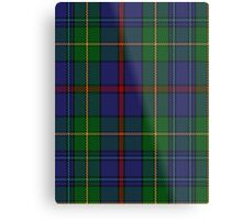 00017 The House of Bailey Clan Tartan  Metal Print