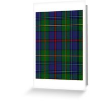 00017 The House of Bailey Clan Tartan  Greeting Card