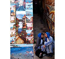 valparaiso lovers Photographic Print