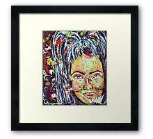 Artist Self-Portrait Framed Print