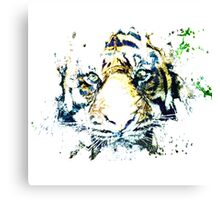 TIGER SPLASH Canvas Print