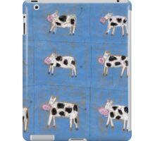 Nine happy cows iPad Case/Skin