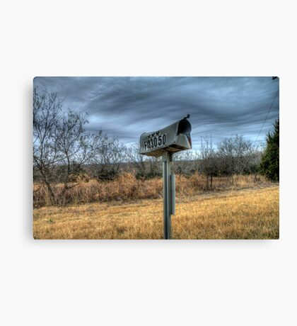 Rural Free Delivery Canvas Print