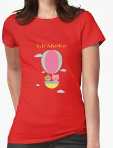 Cute Adventure Womens Fitted T-Shirt