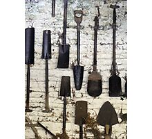 spade or shovel? Photographic Print