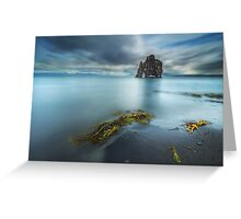 Hvitserkur Greeting Card