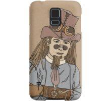 Steampunk Man with Awesome Hat Samsung Galaxy Case/Skin