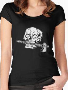 Go Chicago Blackhawks Women's Fitted Scoop T-Shirt