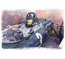 Graham Hill BRM P261 1965 Poster