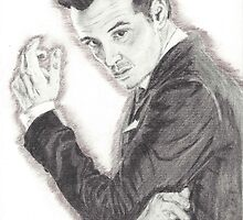 Moriarty portrayed by Andrew Scott in Sherlock by Deelectableart