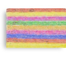Colour Stripes Canvas Print