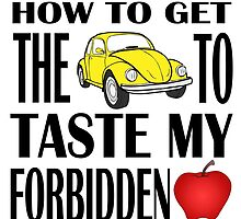 How to get the Savior to taste my forbidden fruit by queequeg35