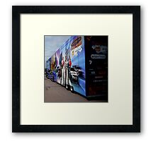 Roundabout nightmare Framed Print