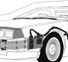 DeLorean DMC-12 Sticker