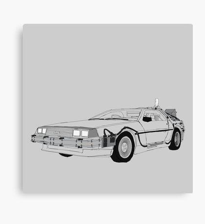 DeLorean DMC-12 Canvas Print