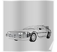 DeLorean DMC-12 Poster