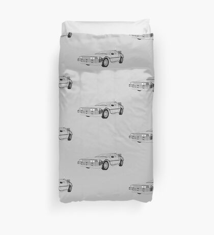 DeLorean DMC-12 Duvet Cover