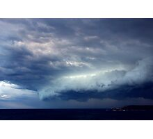 Storm Front Over Peninsula Photographic Print