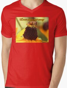 Love does not envy Mens V-Neck T-Shirt