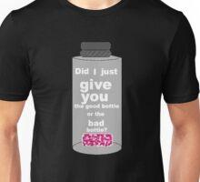 Sherlock, Good Bottle or Bad Bottle? Unisex T-Shirt