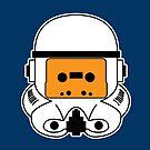 Cassette Trooper - Orange by cudatron