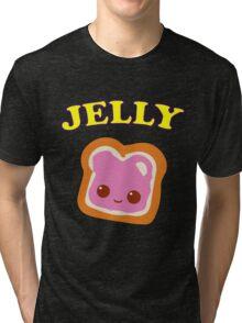 Couple - (Peanut Butter &) Jelly Tri-blend T-Shirt