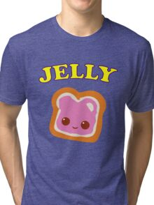 Couple - (Peanut Butter &) Jelly Tri-blend T-Shirt