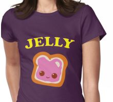 Couple - (Peanut Butter &) Jelly Womens Fitted T-Shirt