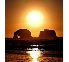 BLAZING SUN Photographic Print